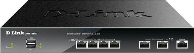 D-link Wireless Controller com licenças para controlar 6 Access Points e limite de até 24 Aps