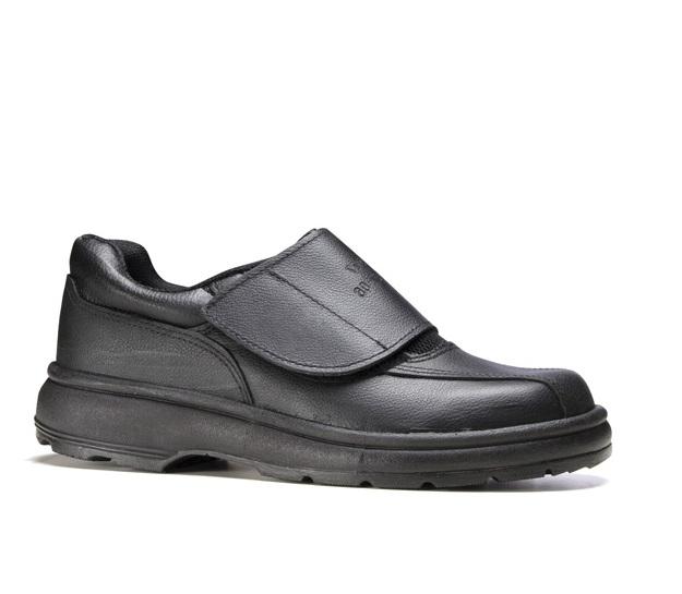 Sapato Social Feminino, 20HFVS600, Preto, Fechamento em Velcro, 2228FFVB6600FF - Fujiwara