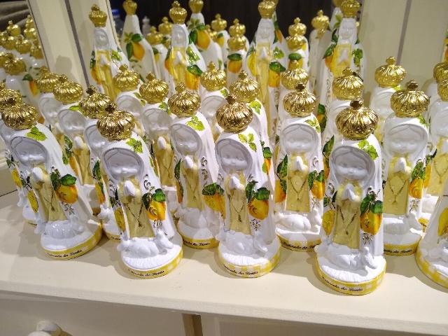 Nossa Senhora de Fatima Baby Limão Lemon Citrus - alt14 x 5cm