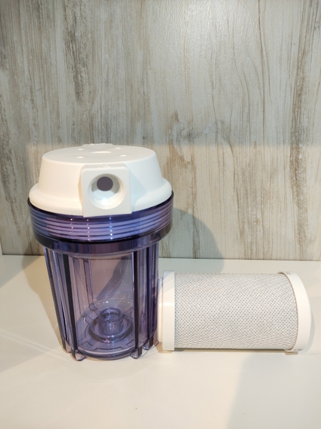 Filtro Água Carbon Block Transparente 5 Para Maquina Cafe Expresso Purifica Tira Cloro