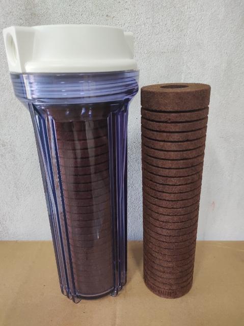 Filtro Carcaça Transparente para Maq. Operatriz 125 micras