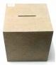 Caixa mdf Cofre COD: CAS001-82 Tam: 20L X 20C X 20A CM