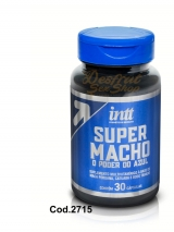 ESTIMULANTE MASCULINO SUPER MACHO CAPSULA - COD 2715