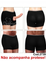 CINTA BOXER UNISSEX P/PROTESE OU PACKER (STRAP ON) - COD 2739