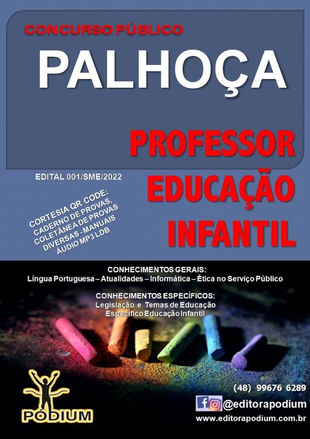 APOSTILA COMPLETA PROFESSOR EDUCAÇÃO INFANTIL