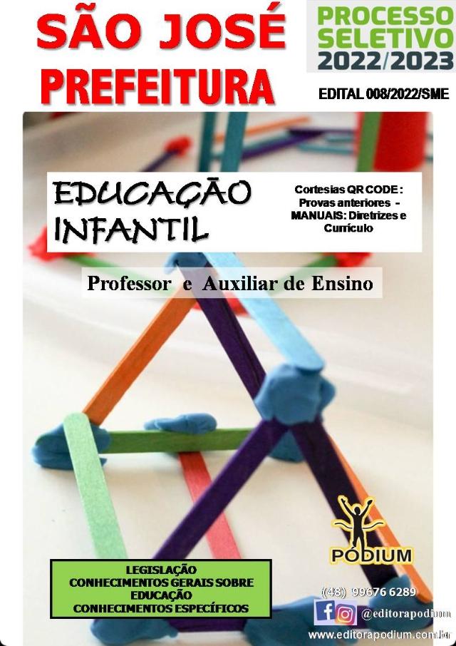 Apostila Professor educação infantil