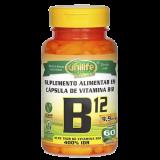 Vitamina B12 (Cianocobalamina) - 60 Cápsulas 9,9 mcg