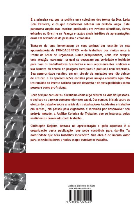 Análises do Trabalho - Edição REVISADA 2016