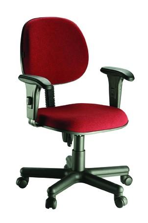 cadeira ergonômica para call center com braços reguláveis