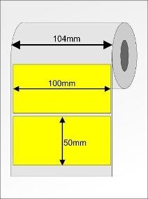Etiqueta Adesiva Couchê, 100 x 50 mm x 1 coluna, para Impressoras Térmicas?cache=2019-09-16