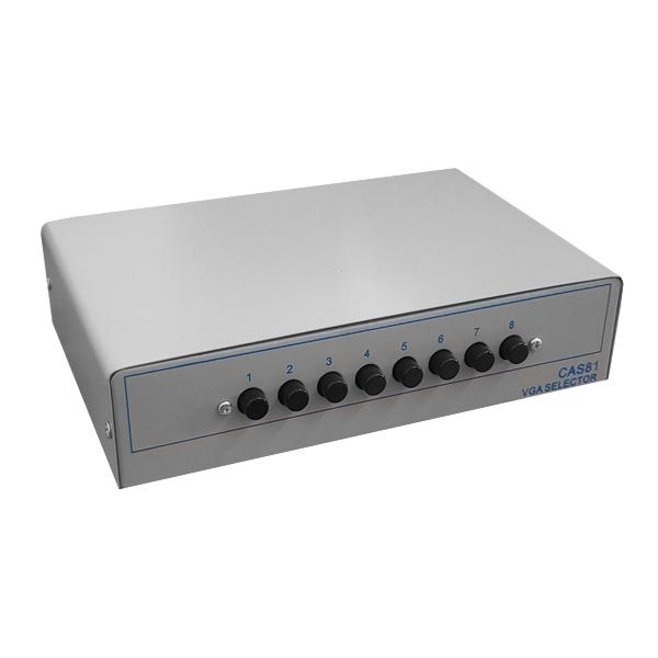Chaveador Switch Vga para 8 Monitores Wide- EL158CH
