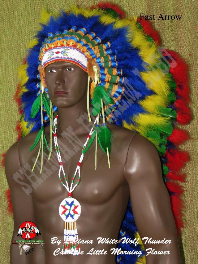 Cocar Indigena Longo  (975)