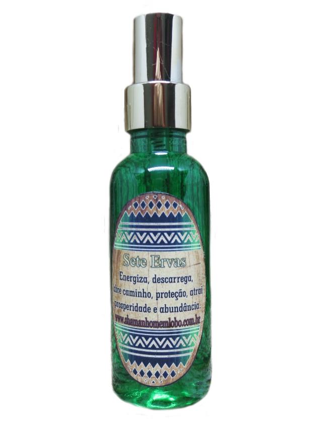 Spray Aromatizante 7 Ervas Aromaterapia (979)