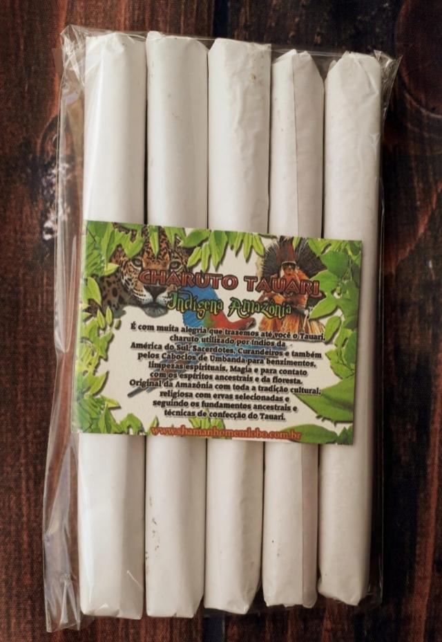 Kit 5 Charuto Tauari Amazonia Natural