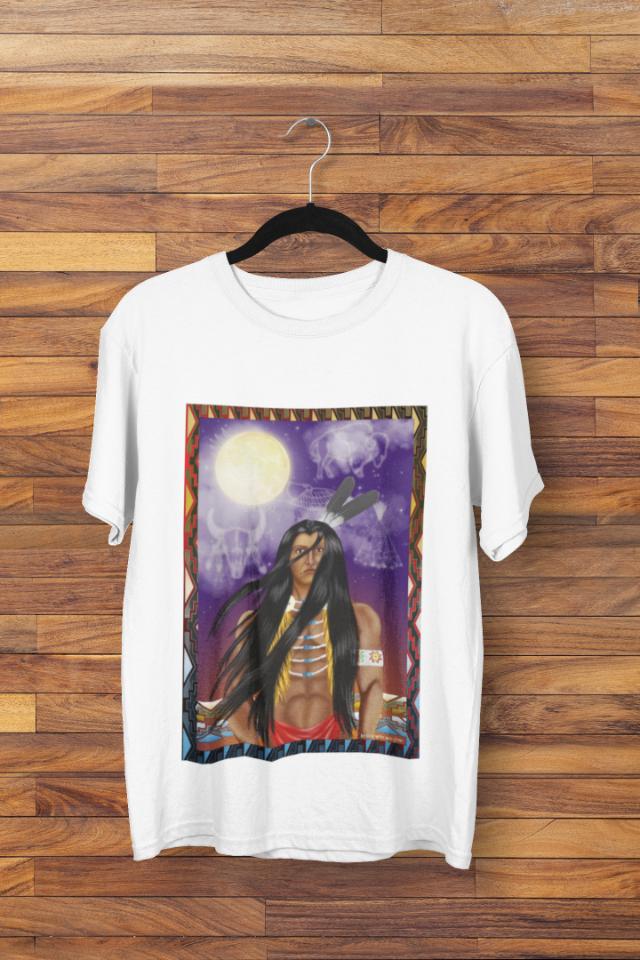 Camiseta Indío Americano Brave Warrior (1713)
