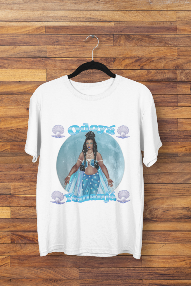 Camiseta Iemanjá Rainha do Mar Odoyá (1716)