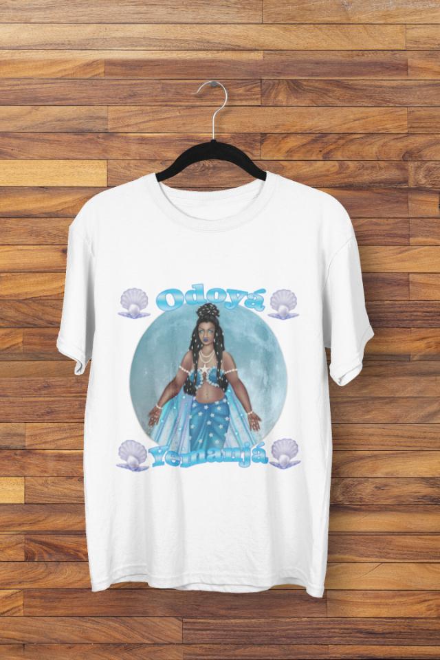 Camiseta Iemanjá Rainha do Mar Odoyá (1716)