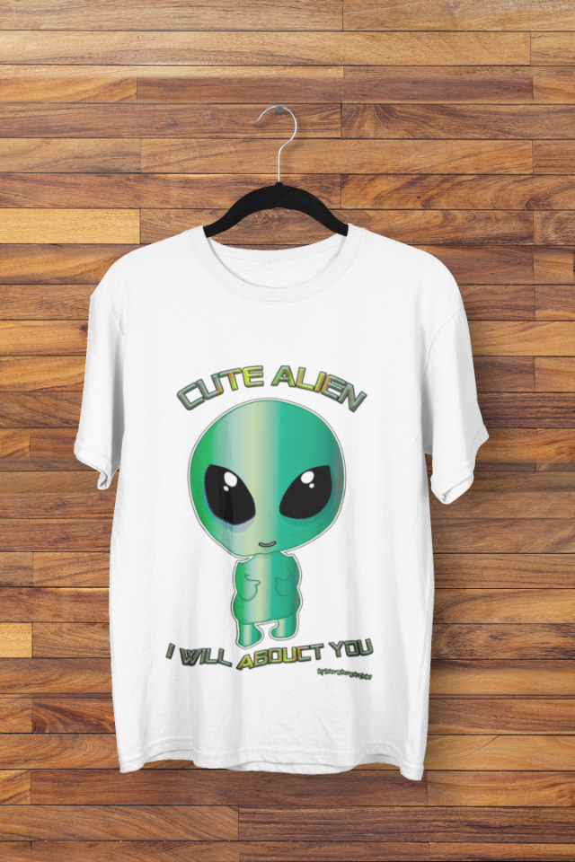 Camiseta Cute Alien (1728)