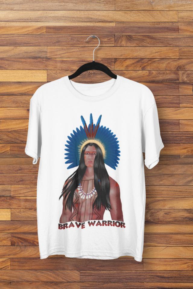Camiseta Índio Brasileiro Indigena (1719)