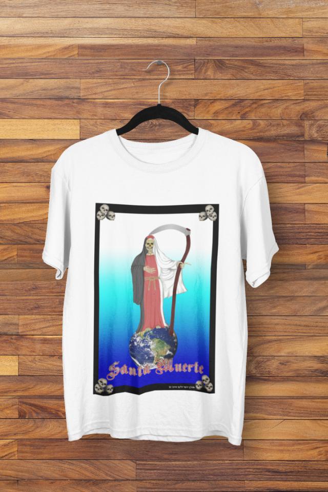 Camiseta Santa Morte Manto 3 Cores Tricolor  (1752)