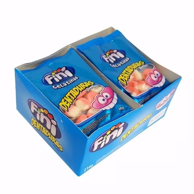 Fini Dentaduras 15g - caixa 12 un