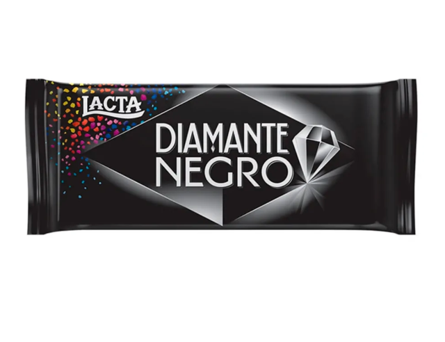 Chocolate Lacta Diamante Negro 90g - 17 un