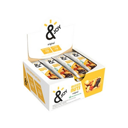Barra Agtal Mixed Nuts Original - caixa 12 un