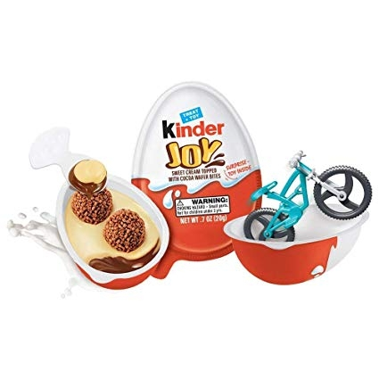 Chocolate Kinder Joy - caixa 12 un