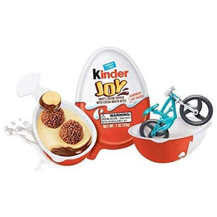 Chocolate Kinder Joy - caixa 16 un