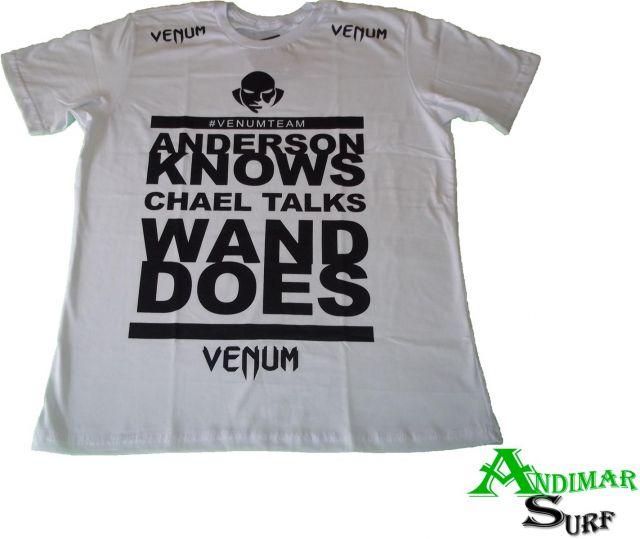 832fd2aacba72 Camiseta Venum Wanderlei Silva por R 69