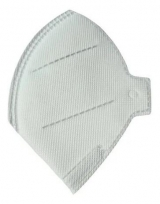 Máscara de Proteção Respiratória PFF2 S Sem Válvula Branca Ecoar (TIPO N95) PCT c/ 50 unidades