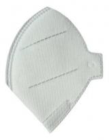 Máscara de Proteção Respiratória PFF2 S Sem Válvula Branca Ecoar (TIPO N95) PCT c/ 100 unidades