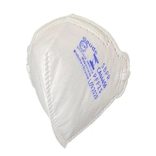.Máscara de Proteção Respiratória PFF2 S Sem Válvula MaskFace Branca (TIPO N95)