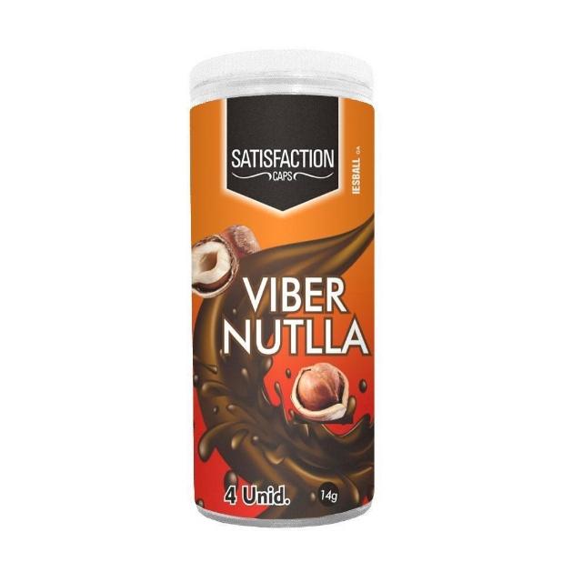 BOLINHA QUADRIBALL VIBER NUTELLA 04 UNIDADES