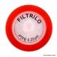 Filtro De Seringa Não Estéril Em Ptfe Hidrofóbico 0,22Micra X 25mm Caixa Com 100 un Filtrilo Sfptfe-2522