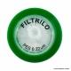 Filtro De Seringa Não Estéril Em Pes Hidrofílico 0,22Micra X 25mm Caixa Com 100 un Filtrilo Sfpes-2522