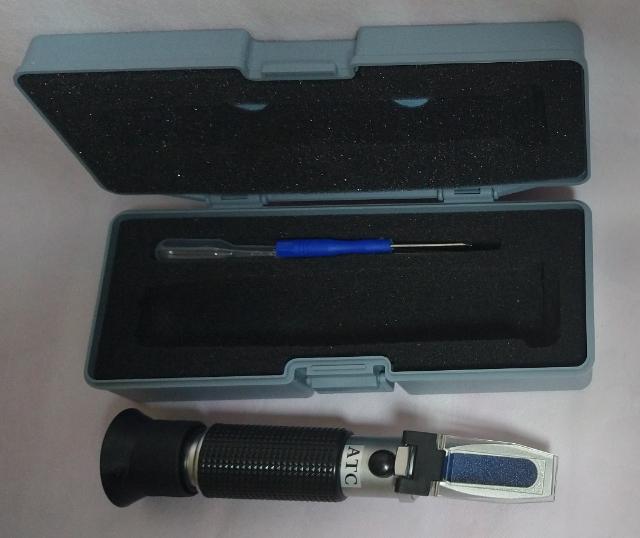 Salinômetro manual faixa de 0 a 100