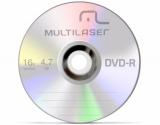 Midia Dvd-r Multilaser 16x/4.7gb Original Unidade