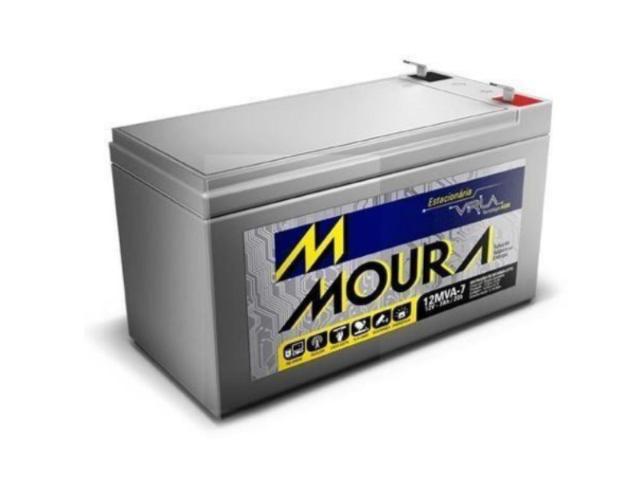 Bateria Estacionária Moura 12v/7ah P/ Nobreak
