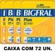 BIGFRAL PLUS MÉDIO CAIXA COM 72 UN