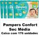 PAMPERS CONFORT SEC TAMANHO MÉDIO CAIXA COM 176 UNIDADES.