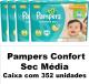 PAMPERS CONFORT SEC TAMANHO MÉDIO CAIXA COM 352 UNIDADES