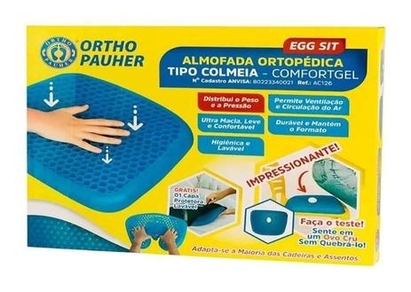 Almofada Ortopédica Tipo Colmeia - Ortho Pauher