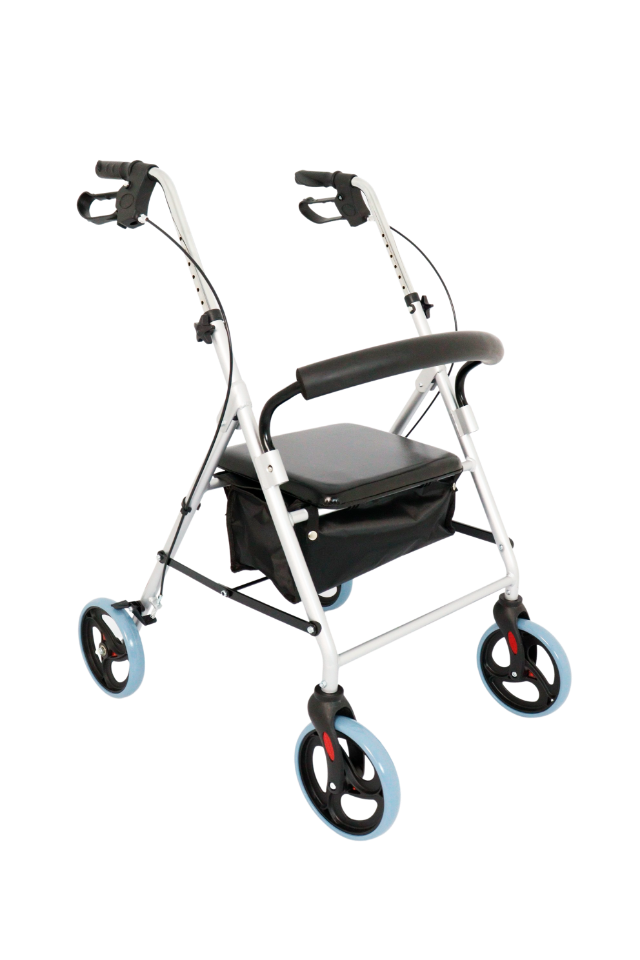 Andador 4 rodas D12 Dellamed