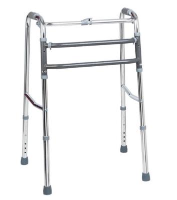 Andador Articulado Aluminio Prata Dellamed