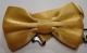 Gravata Borboleta Dourada Infantil