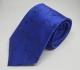 Gravata Azul Royal Detalhe Floral Preto