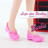 87c56b1b3c Sapatilhas De Ballet (Modelo Rasteira   Rosa Bebê)