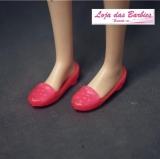 82e8932fa6 Sapatilhas Casuais Para Barbie    Melissa  (Coral Neon)