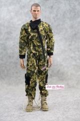 Roupa Para Boneco 1 6 (Falcon   Gi Joe   Hot Toys)   6db6b596303c0